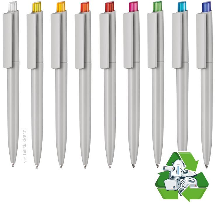 Recycled pen Crest - post consumer waste