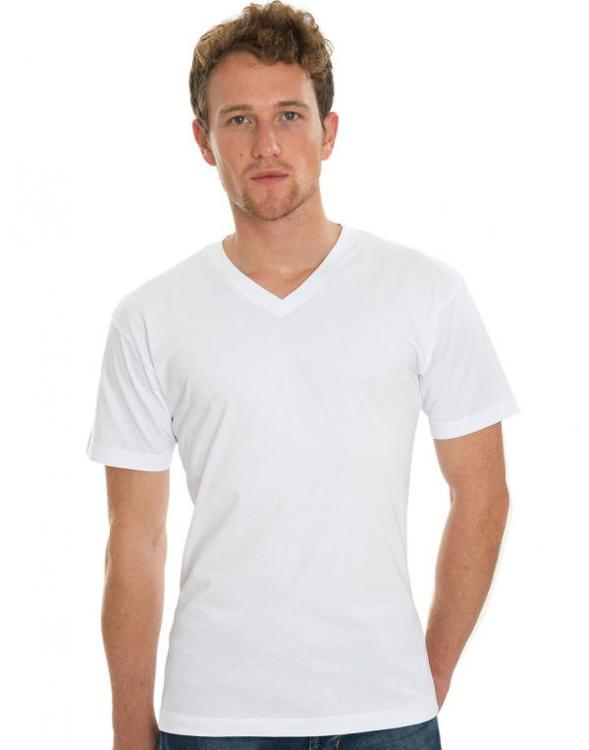 James Eco T-shirt met Vhals