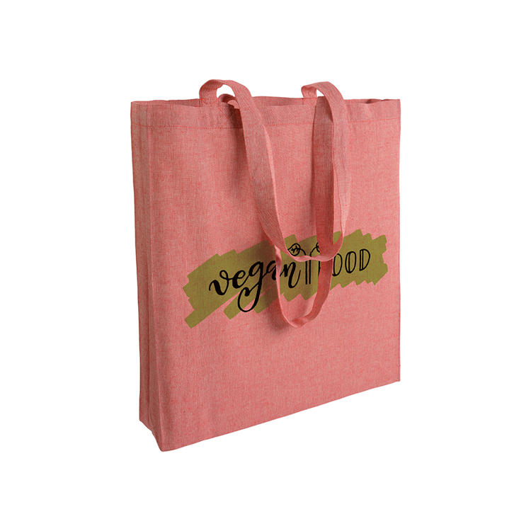 Gerecycled katoenen shopper