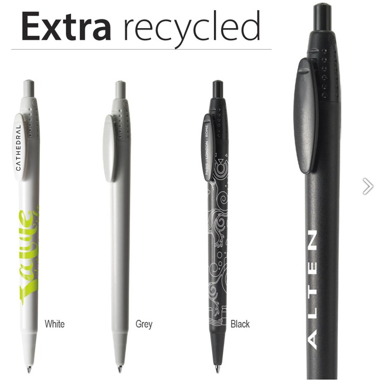 Extra logo pen recycled  ABS