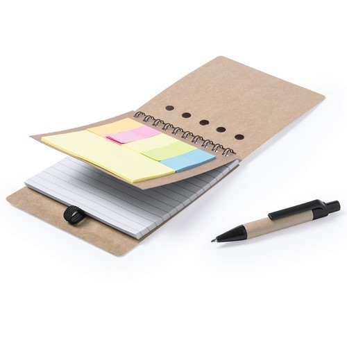 Sticky note setje met pen