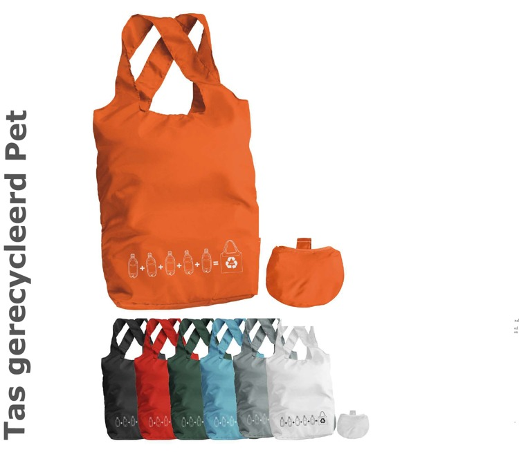 Vouwbare eco shopper